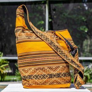 Boho Crossbody Bag Woven